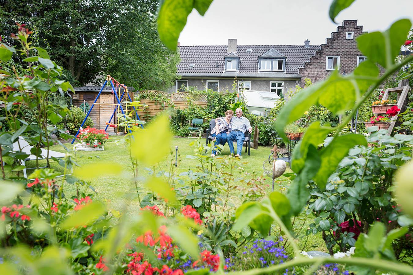In den Gärten der Margarethenhöhe