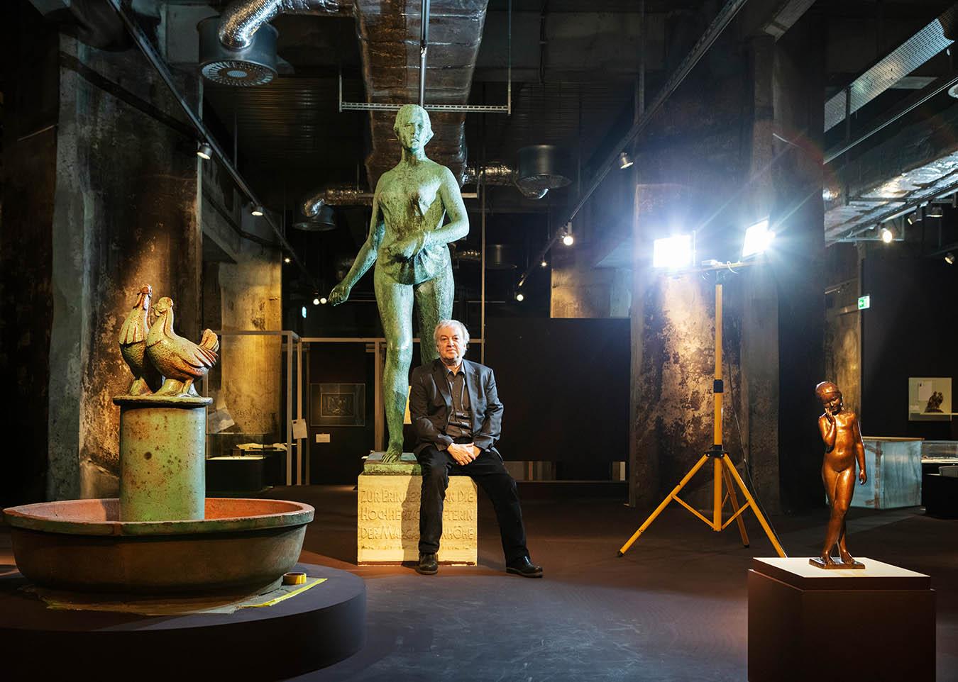 Prof. Theodor Grütter, Direktor des Ruhr Museums Essen