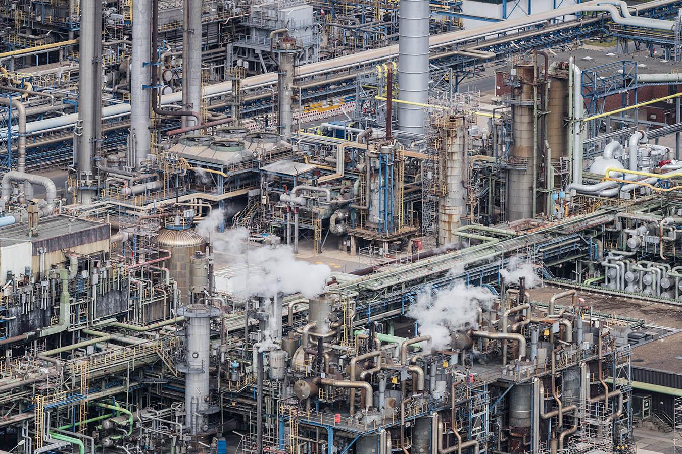Industriefotografie Gelsenkirchen Raffinerie